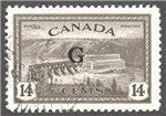 Canada Scott O22 Used VF
