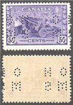 Canada Scott O261 Mint VF (P)