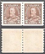 Canada Scott 229 Mint VF Pair (P)