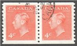 Canada Scott 310 Used VF Pair