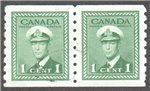 Canada Scott 263 Used Pair VF