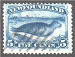 Newfoundland Scott 55 Used F