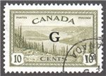 Canada Scott O21 Used VF