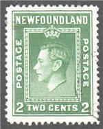 Newfoundland Scott 254 Used VF