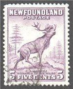 Newfoundland Scott 257ix Used VF