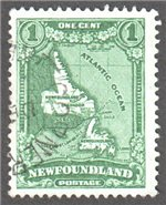 Newfoundland Scott 172 Used VF