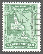 Newfoundland Scott 172 Used F