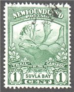 Newfoundland Scott 115 Used VF (P14.1)