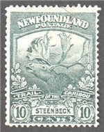 Newfoundland Scott 122 Used F (P14.1)