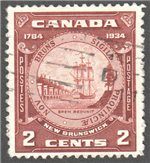 Canada Scott 210 Used VF