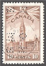 Canada Scott O257 Used VF