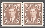 Canada Scott 239 Mint VF Pair