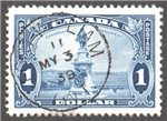 Canada Scott 227 Used VF