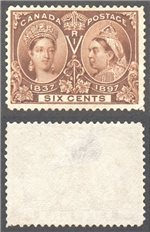 Canada Scott 55 Used VF (P)