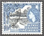 Kenya, Uganda and Tanganyika Scott 116 Used