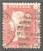 Great Britain Scott 33 Used Plate 209 - JB