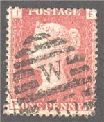 Great Britain Scott 33 Used Plate 146 - FI