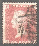 Great Britain Scott 33 Used Plate 148 - JF
