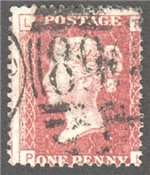 Great Britain Scott 33 Used Plate 145 - PL