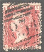 Great Britain Scott 33 Used Plate 146 - RB