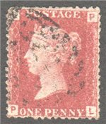 Great Britain Scott 33 Used Plate 151 - PL