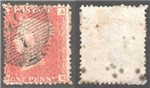 Great Britain Scott 33 Used Plate 214 - AA