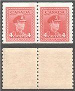 Canada Scott 281 MNH Pair F (P)