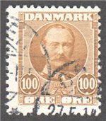 Denmark Scott 78 Used