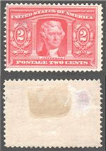 United States Scott 324 Mint (P)