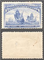 United States Scott 233 Mint (P)
