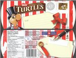 Canada Christmas 2012 Turtles Stamp on Box