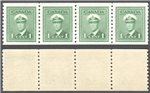 Canada Scott 278 MNH VF Strip (P)