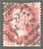 Great Britain Scott 33 Used Plate 106 - QD