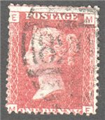 Great Britain Scott 33 Used Plate 112 - ME