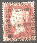 Great Britain Scott 33 Used Plate 193 - AE