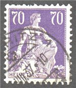 Switzerland Scott 142a Used