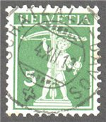 Switzerland Scott 157 Used