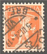Switzerland Scott 158 Used