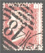 Great Britain Scott 33 Used Plate 209 - ID