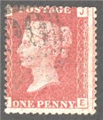 Great Britain Scott 33 Used Plate 102 - JE