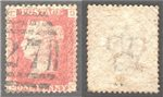 Great Britain Scott 33 Used Plate 139 - DC