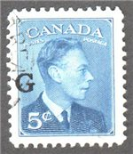 Canada Scott O20 Used VF