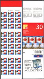 Canada Scott 1700b MNH BK237b (B6-25a)