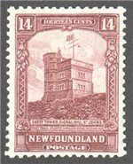 Newfoundland Scott 155 Mint VF (P12.75x13.5)