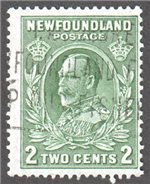 Newfoundland Scott 186ii Used F