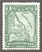 Newfoundland Scott 145 Used VF (P14.2x13.7)
