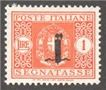 Italian Socialist Republic Scott J9 Mint