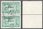 Canada Scott O11 Used VF Pair (P)