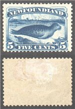 Newfoundland Scott 54 Mint F (P)