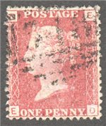 Great Britain Scott 33 Used Plate 131 - ED